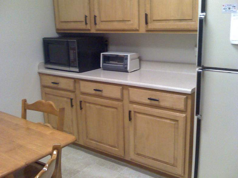 Cabinet refacing project in grand prairie for Kitchen remodeling arlington tx