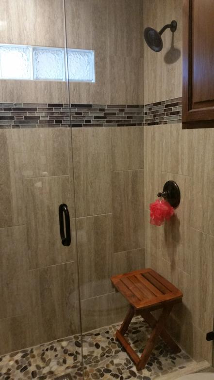 Custom Walk In Shower Custom Walk In Shower Vacation Home